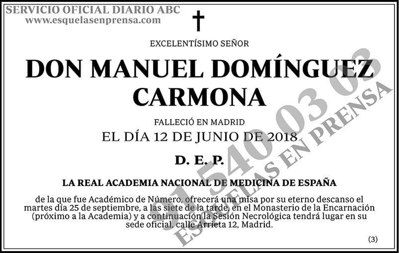 Manuel Domínguez Carmona